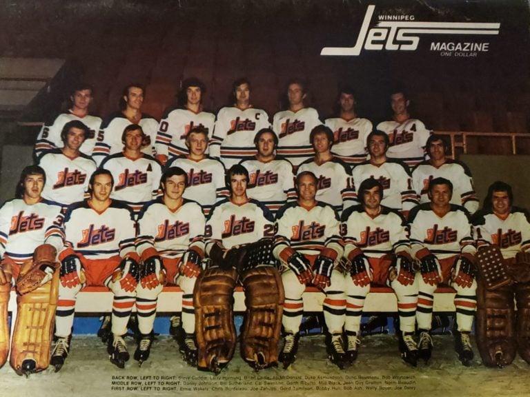 Winnipeg Jets 1972-73 WHA team photo