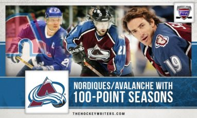 Nordiques/Avalanche Players with 100-Point Seasons