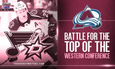 Avalanche Battle to Remain in Top Three of Western Conference