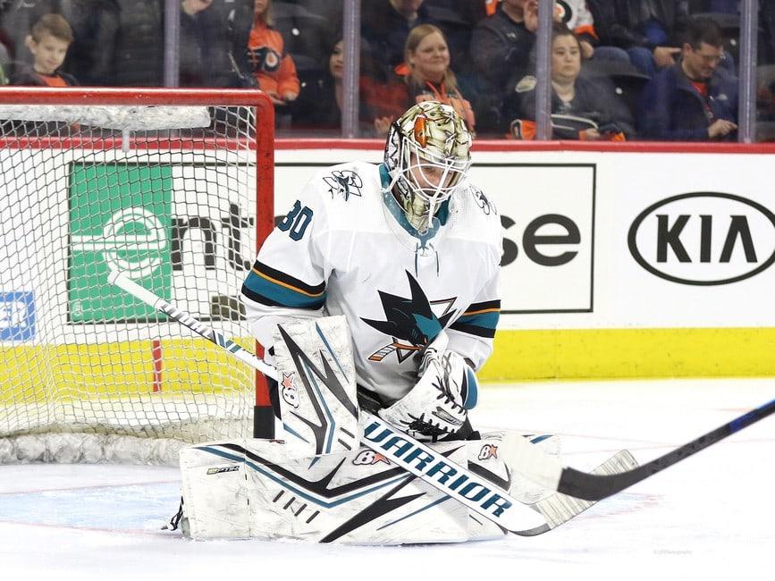 Aaron Dell San Jose Sharks