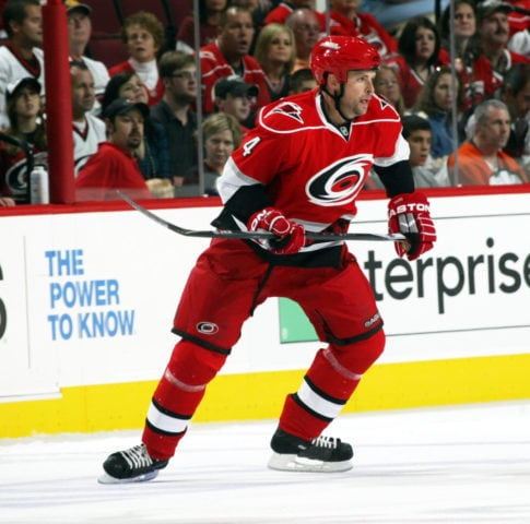 Aaron Ward Carolina Hurricanes