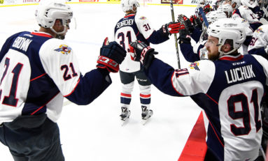 Spitfires Improve to 2-0 at Memorial Cup