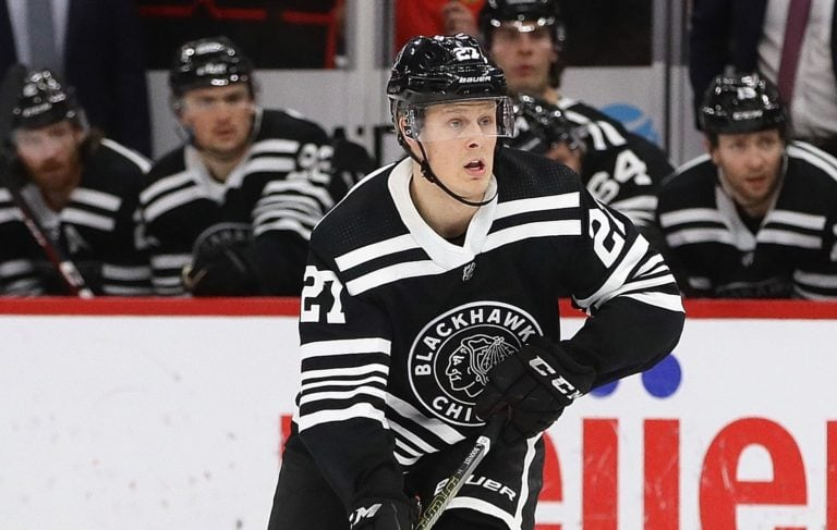 Adam Boqvist Chicago Blackhawks