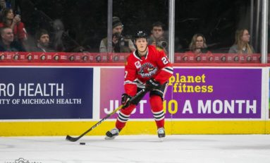 Boqvist, Blackhawks Rally Past Lowly Red Wings 4-2