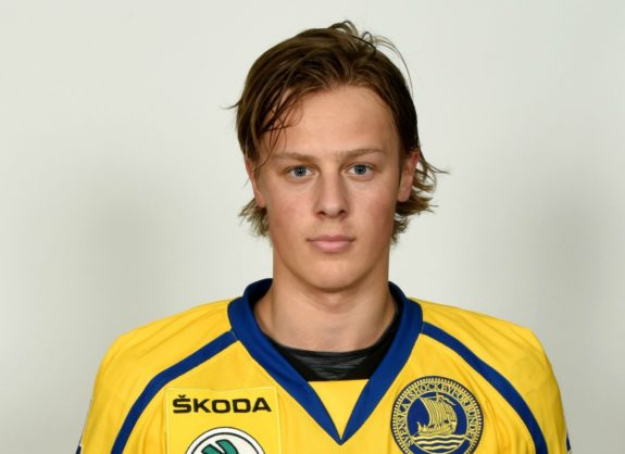 Potential Detroit Red Wings draft pick Adam Boqvist.