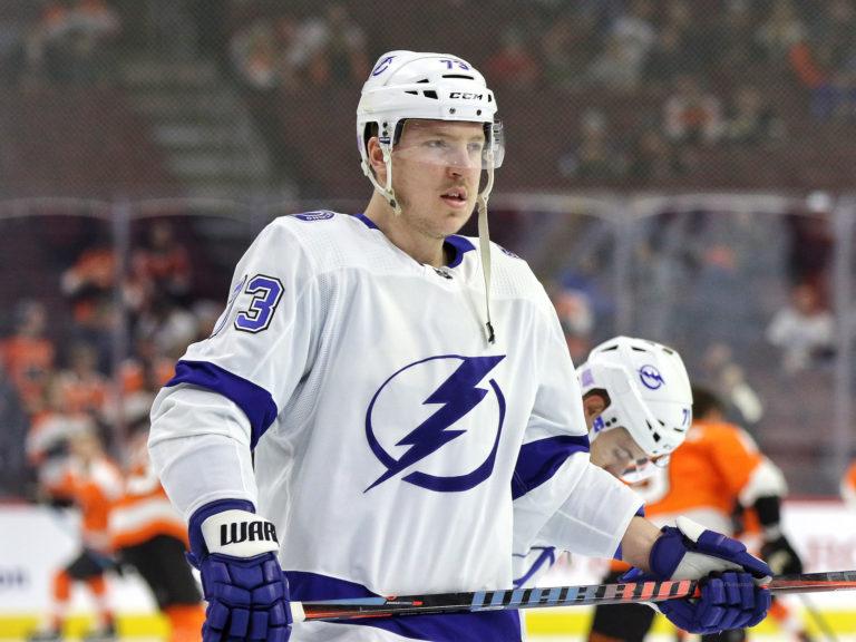 Adam Erne, Tampa Bay Lightning