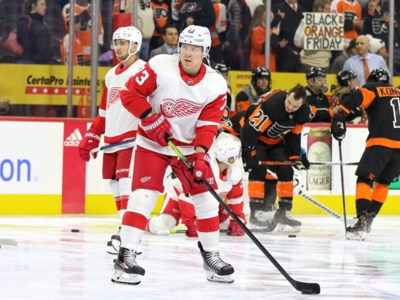 Adam Erne Detroit Red Wings