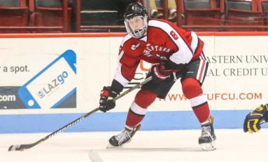 Canucks Adam Gaudette Continues to Dominate NCAA