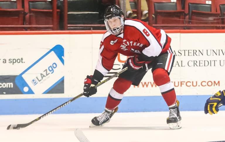 Adam Gaudette Northeastern University Huskies