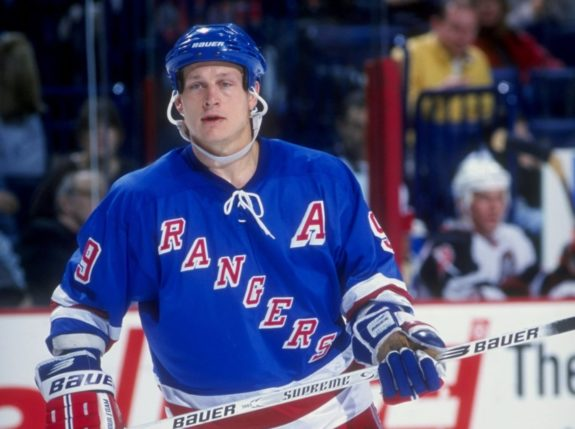 Adam Graves New York Rangers
