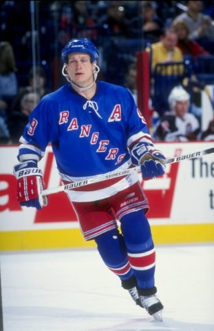 Adam Graves New York Rangers