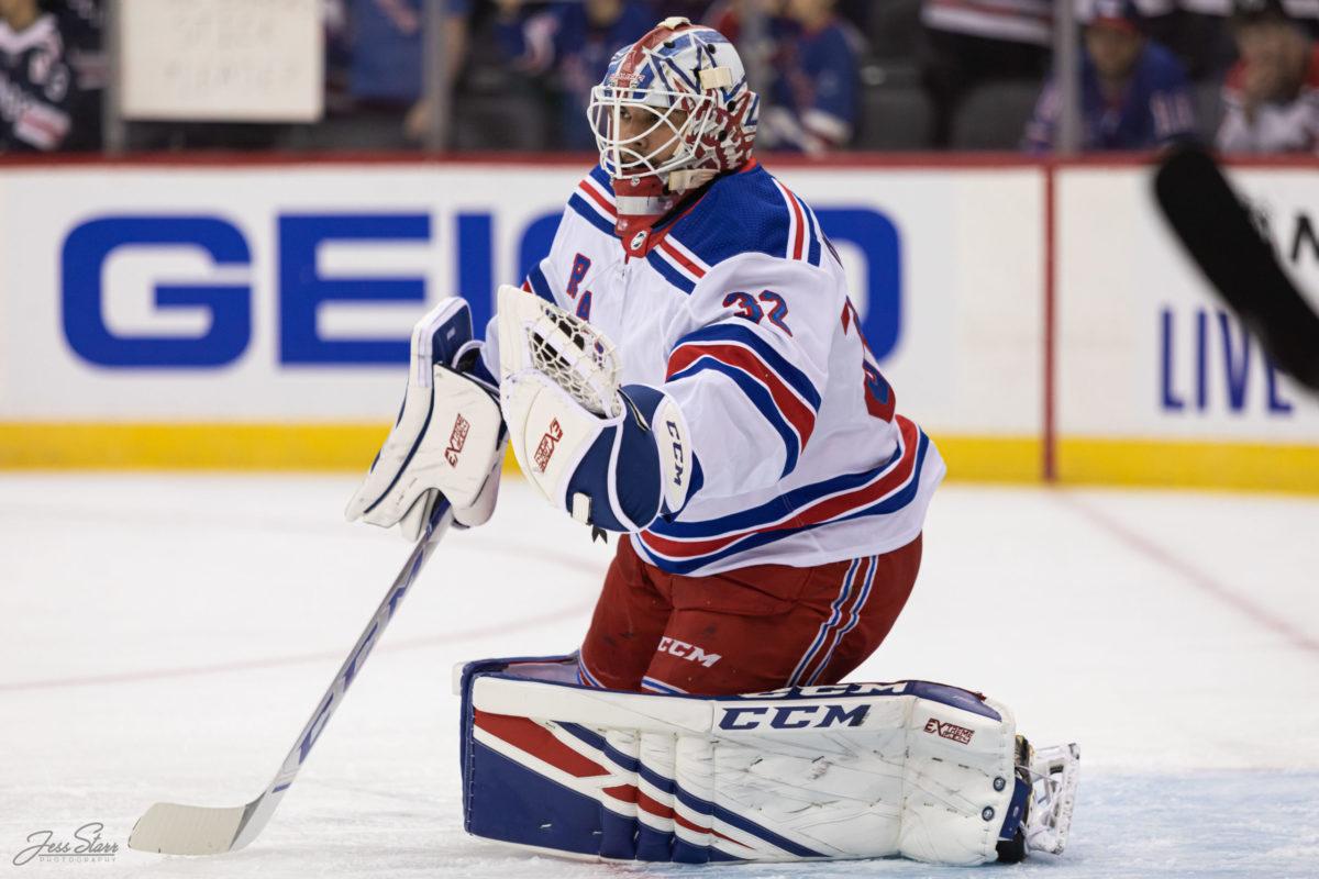 Adam Huska New York Rangers