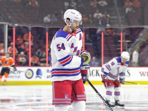 Adam McQuaid, New York Rangers