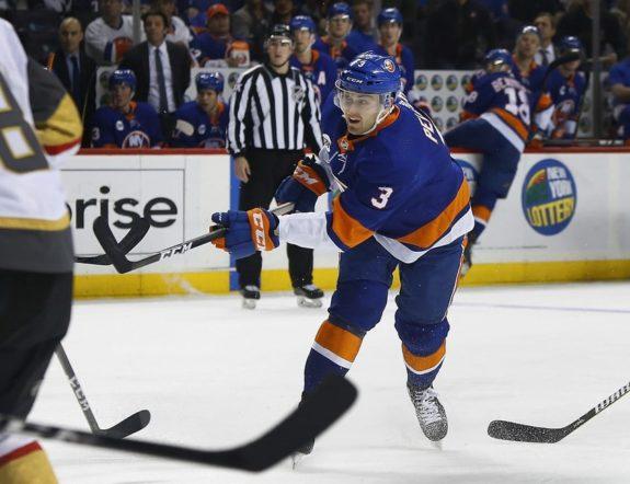 New York Islanders defenseman Adam Pelech