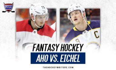Fantasy Faceoff: Sebastian Aho vs. Jack Eichel