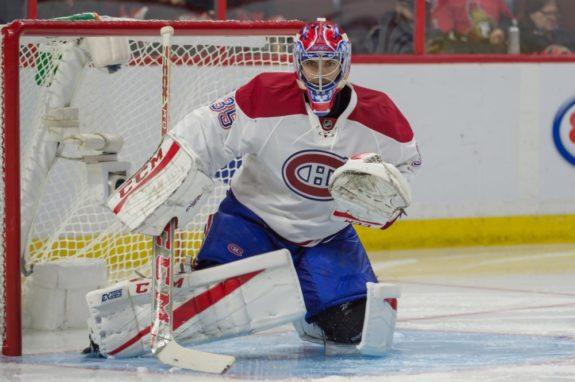 Al Montoya Montreal Canadiens