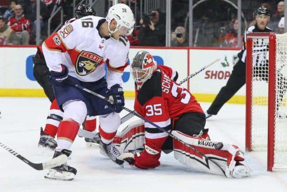 Devils goalie Cory Schneider