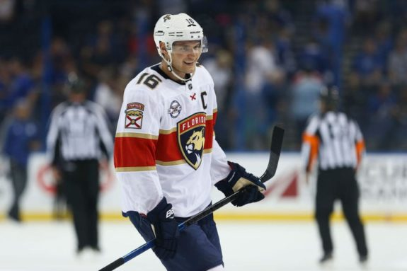 Panthers center Aleksander Barkov