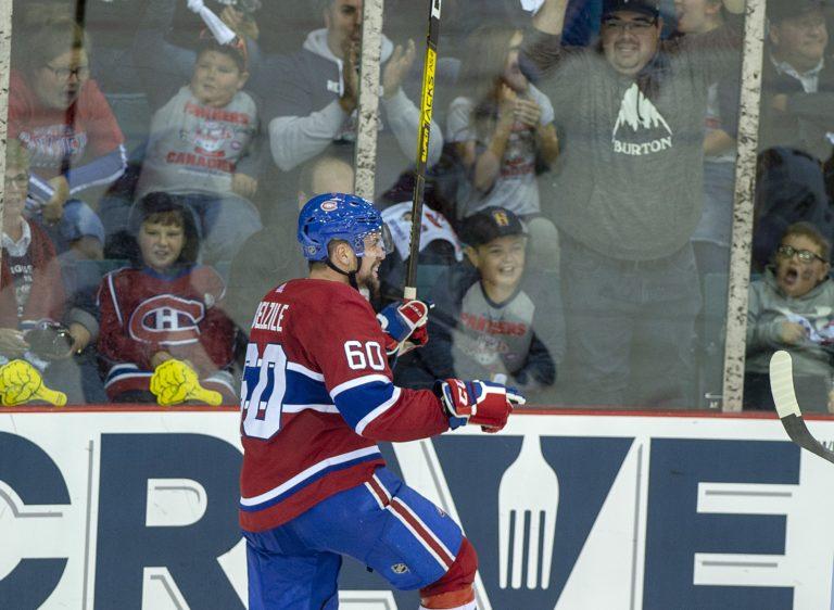 Montreal Canadiens Alex Belzile