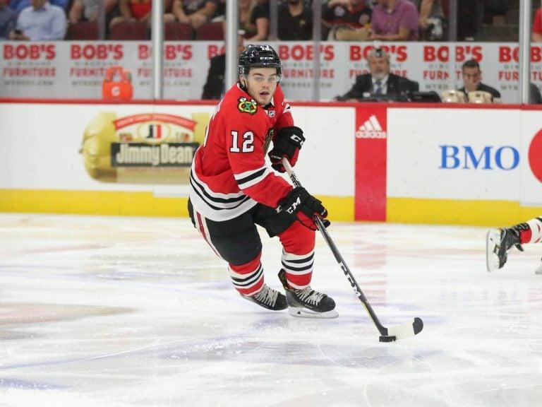 Alex DeBrincat Blackhawks