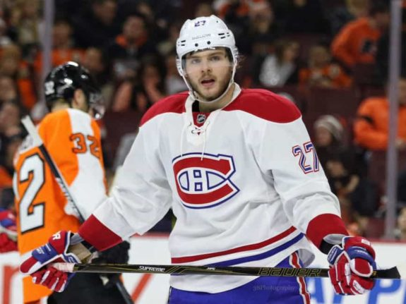 Ex-Montreal Canadiens forward Alex Galchenyuk