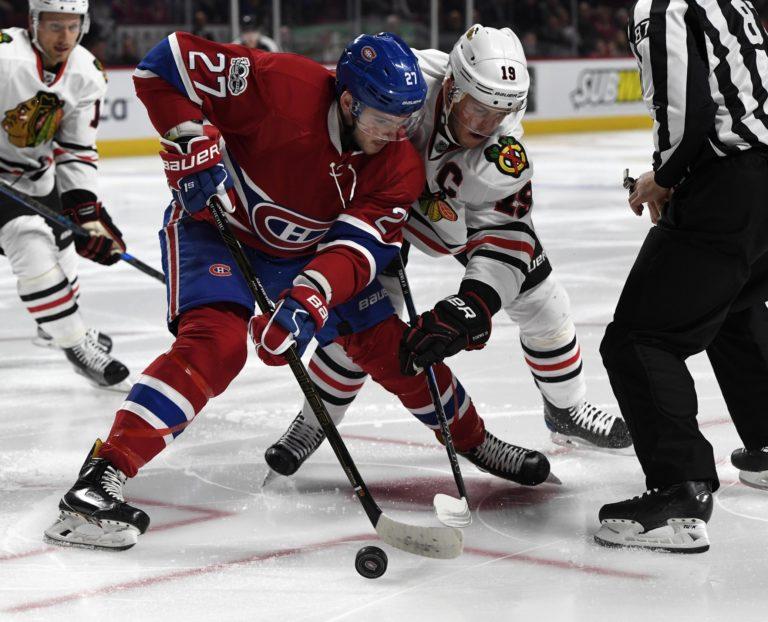 Montreal Canadiens forward Alex Galchenyuk