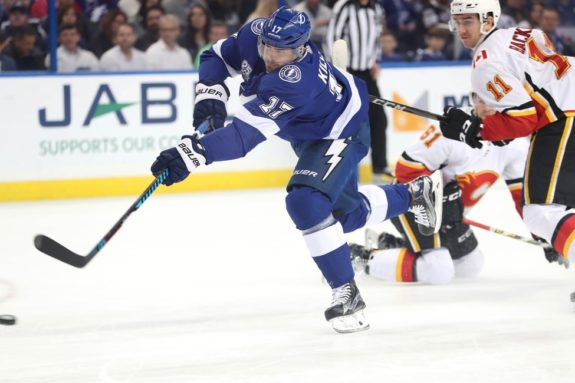 Lightning left wing Alex Killorn