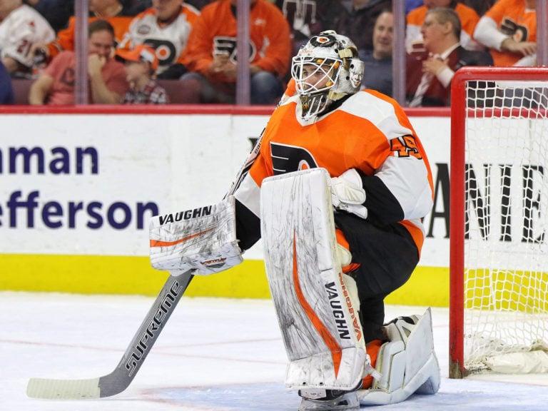 Alex Lyon, Philadelphia Flyers
