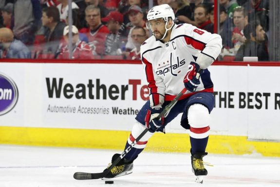 Washington Capitals' Alex Ovechkin