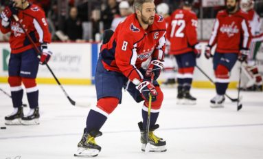 Ovechkin Ties Yzerman for Career Goals; Capitals Top Islanders 6-4