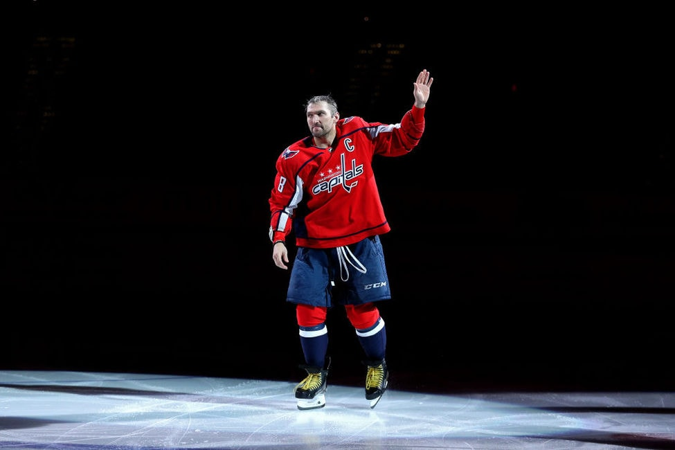 Alex Ovechkin Washington Capitals 700 goals