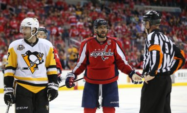 Penalty Problems Plague Capitals but Djoos Shines
