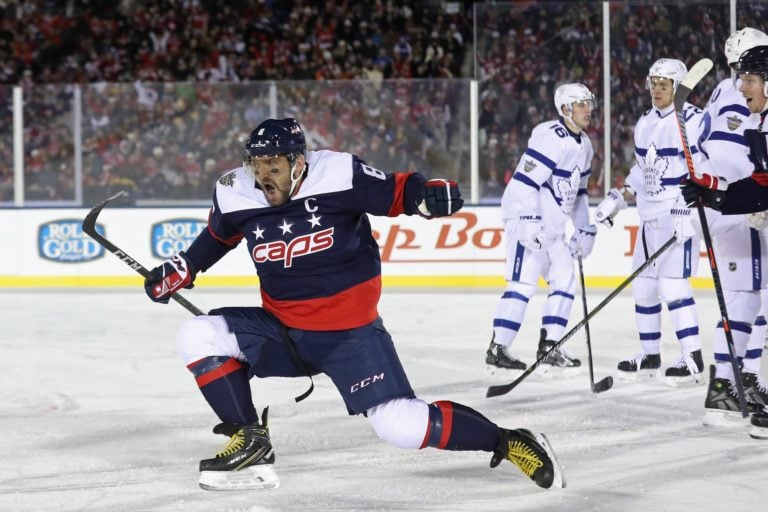 Capitals left wing Alex Ovechkin