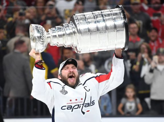 Alex Ovechkin Stanley Cup Washington Capitals