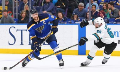 Blues' Sloppy Play to Blame for a Tied Series