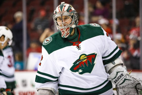 Alex Stalock Minnesota Wild