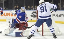 Georgiev's 55 Saves Helps Rangers Beat the Maple Leafs 4-1