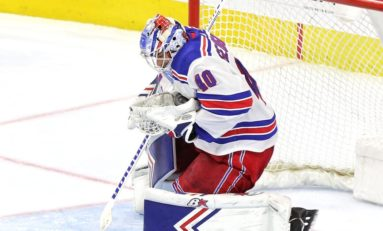Georgiev, Rangers Shut Out Devils 4-0