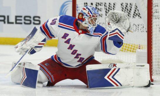 Rangers Edge Maple Leafs in OT - Georgiev Makes 55 Saves 2f7861c4b