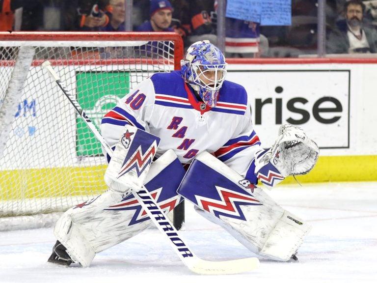 Alexander Georgiev New York Rangers