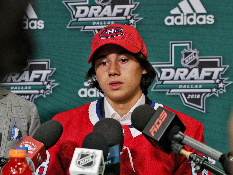 Alexander Romanov Montreal Canadiens