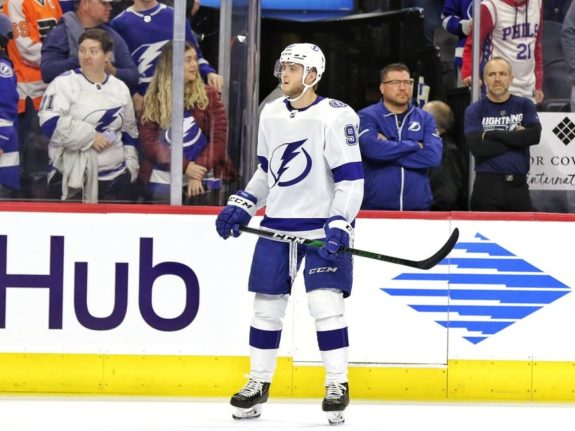 Alexander Volkov Tampa Bay Lightning