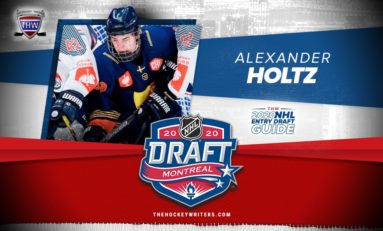 Devils Pick Alexander Holtz 7th Overall
