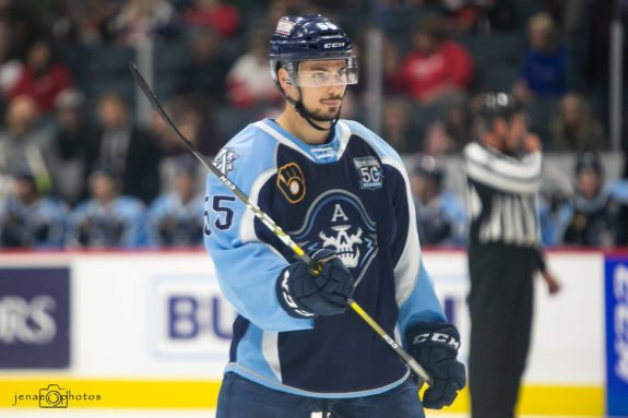 Alexandre Carrier Milwaukee Admirals