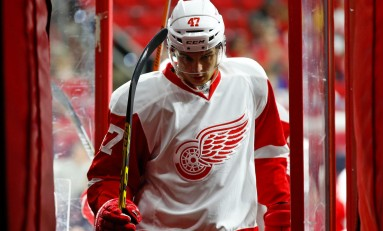 Alexey Marchenko Finally Full-Time Red Wing