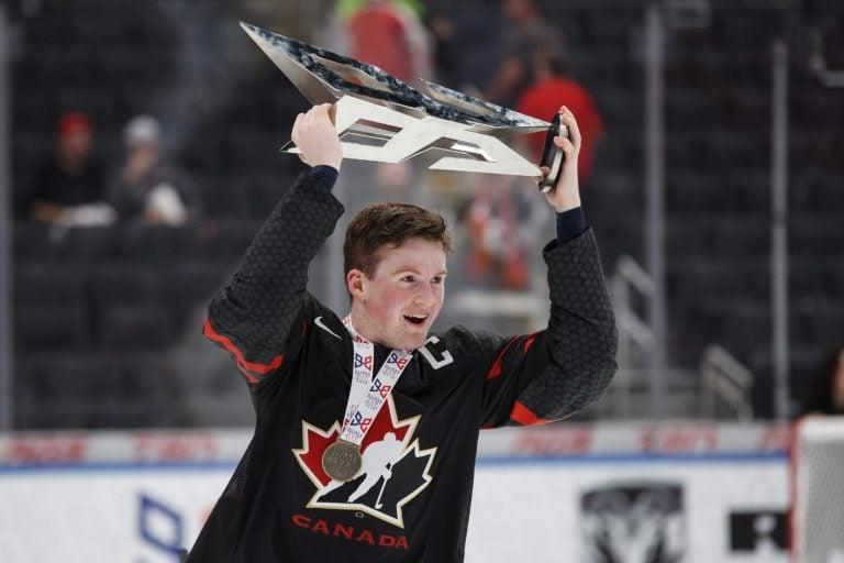 Team Canada's Alexis Lafreniere