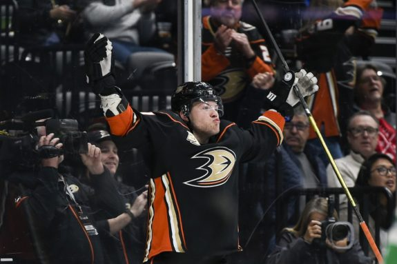 Anaheim Ducks Daniel Sprong