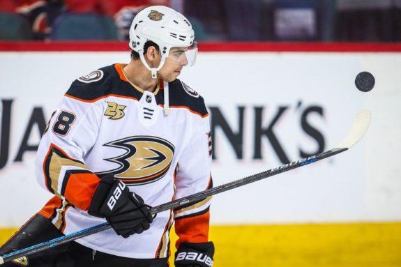 Anaheim Ducks Derek Grant