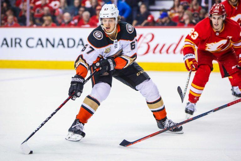 Anaheim Ducks Rickard Rakell