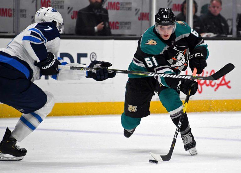Anaheim Ducks Troy Terry